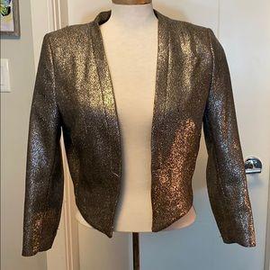Sparkly open dress coat
